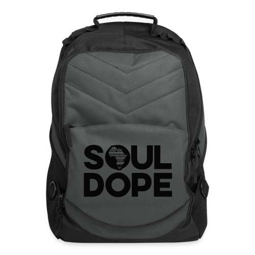 souldope Black Logo - Computer Backpack