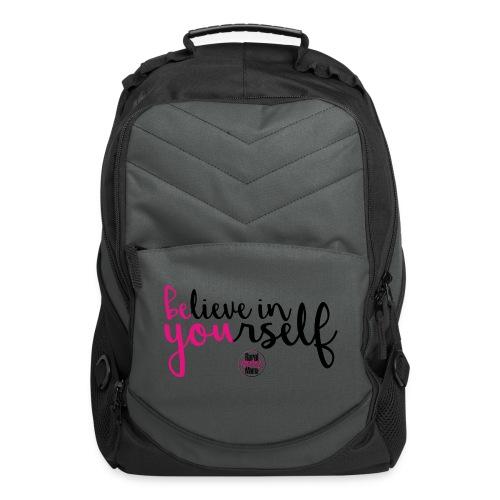 BE YOU shirt design w logo - Computer Backpack