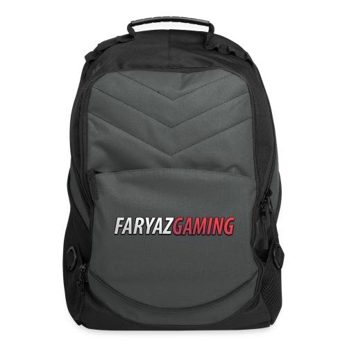 FaryazGaming Text - Computer Backpack