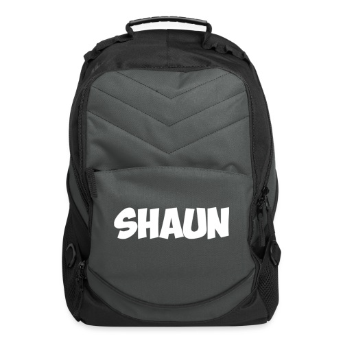 Shaun Logo Shirt - Computer Backpack