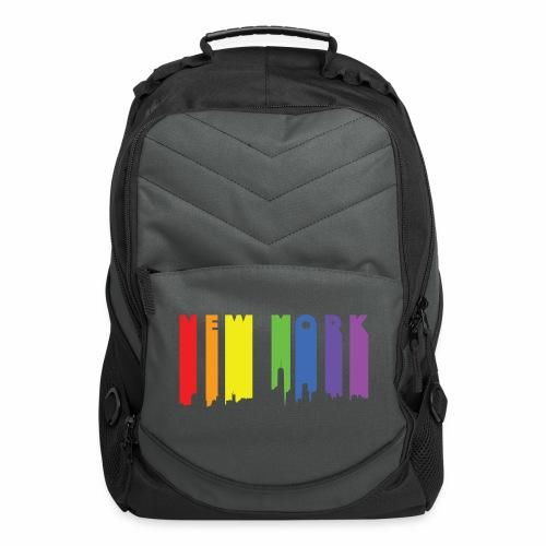 New York design Rainbow - Computer Backpack