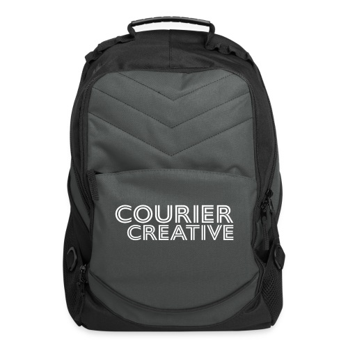 Courier Creative Logo - Computer Backpack