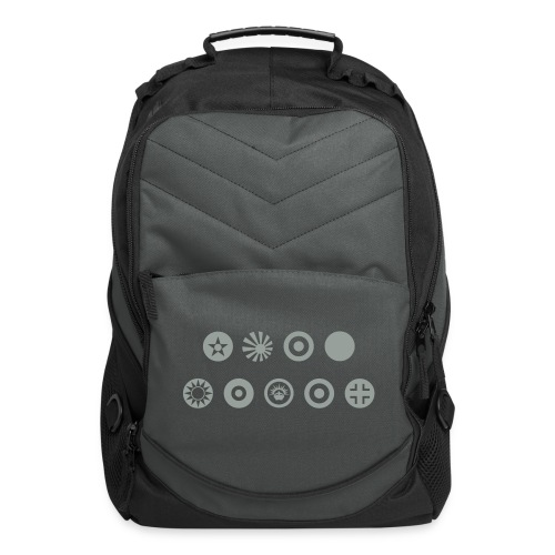 Axis & Allies Country Symbols - One Color - Computer Backpack
