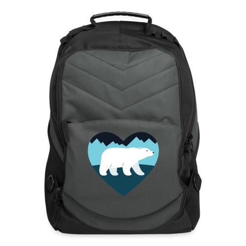Polar Bear Love - Computer Backpack
