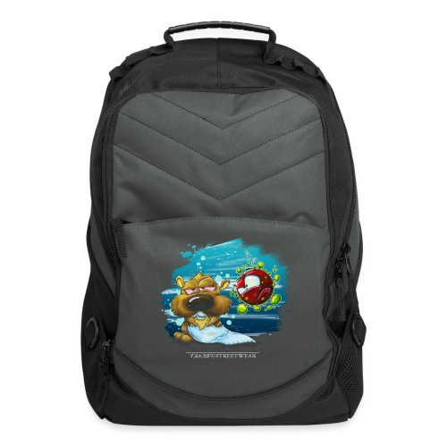 the tragic of life - Computer Backpack