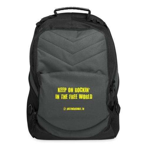 KORITFW yellow - Computer Backpack