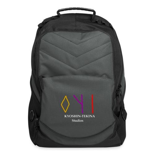 Kyoshin-Tekina Studios logo (white text) - Computer Backpack