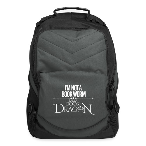 White Book Dragon - Computer Backpack