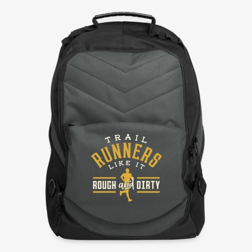 Trail Runners Like It Rough & Dirty - Computer Backpack