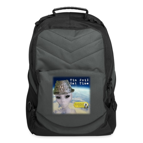 Tin Foil Hat Time (Earth) - Computer Backpack