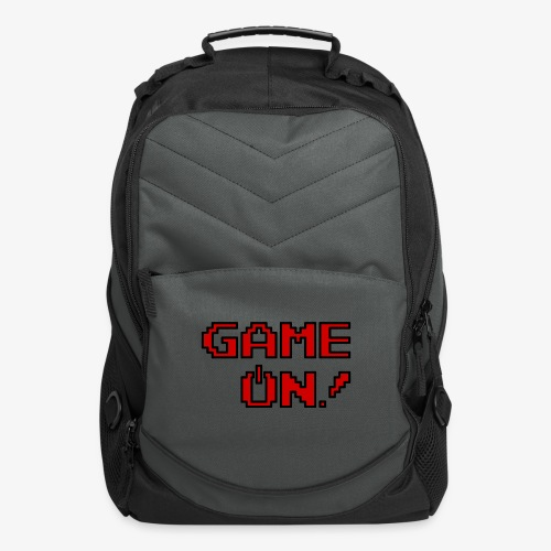 Game On.png - Computer Backpack