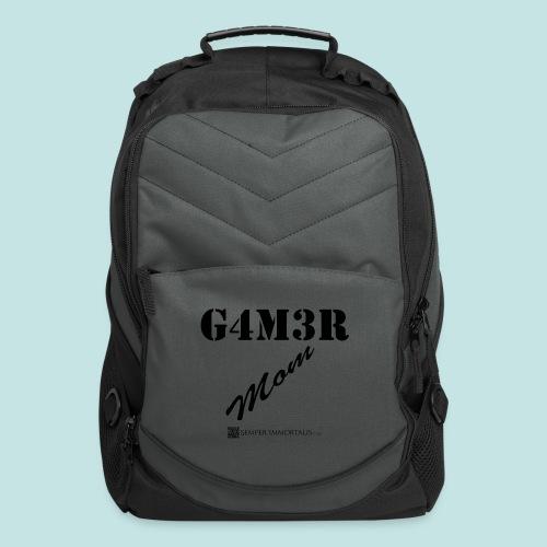 Gamer Mom (black) - Computer Backpack
