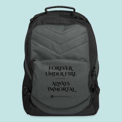 Always Immortal (black) - Computer Backpack