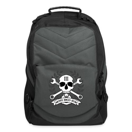 Moto Ergo Sum - Computer Backpack