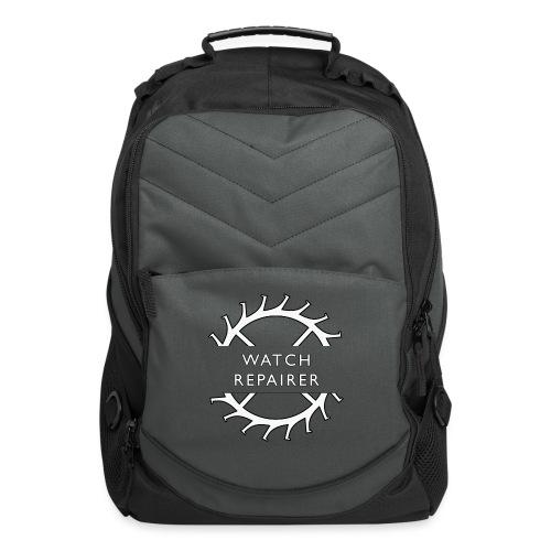 Watch Repairer Emblem - Computer Backpack