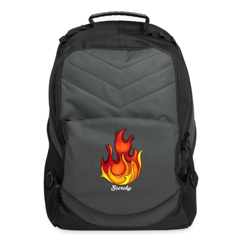 Scorchy White Logo - Computer Backpack