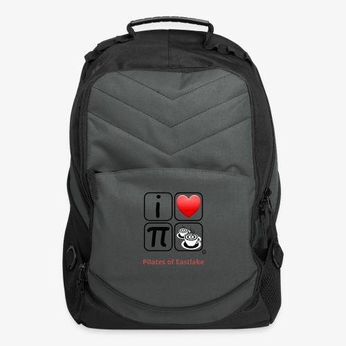 I love Pilates black and white - Computer Backpack
