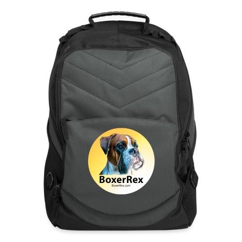 Boxer Rex logo - Computer Backpack