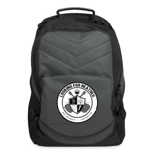 Looking For Heather - Crest Logo - Computer Backpack