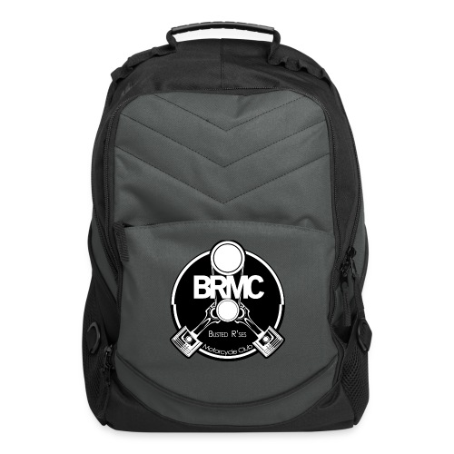 Busted R'ses MC Logo - Computer Backpack