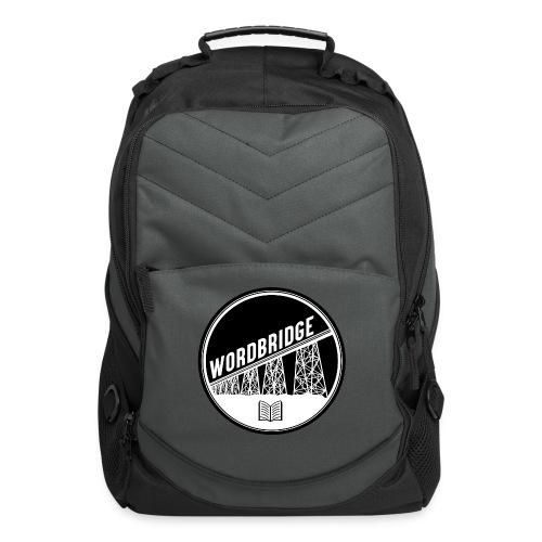 WordBridge Conference Logo - Computer Backpack