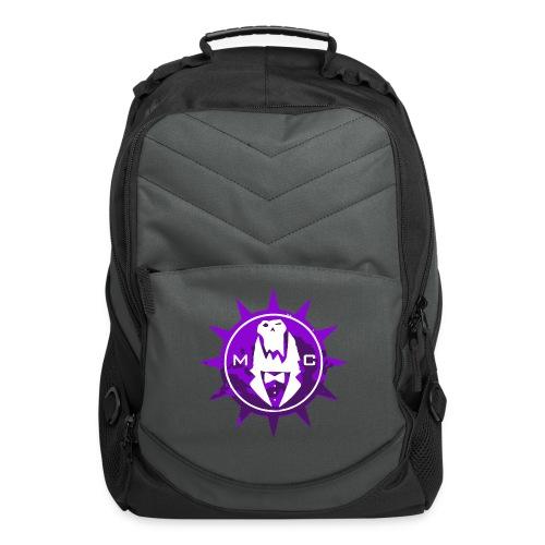 Vector MC Logo 2 colors V2 - Computer Backpack