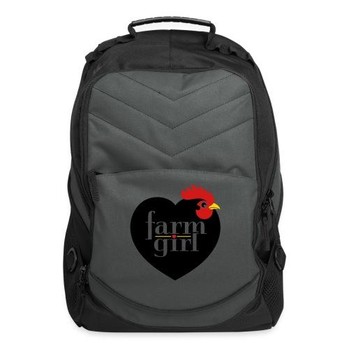 Farm girl - Computer Backpack