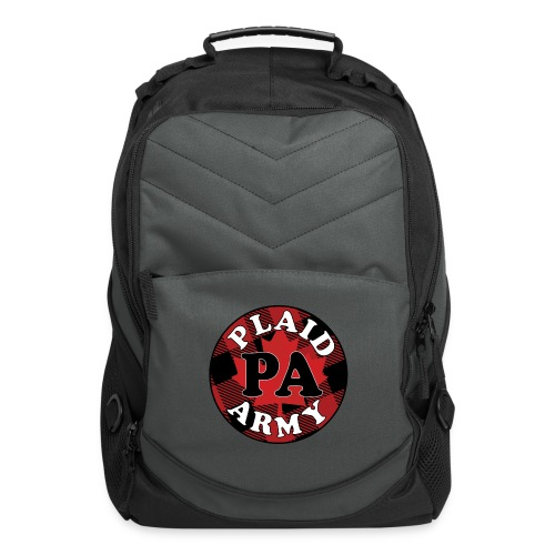 plaid army round - Computer Backpack