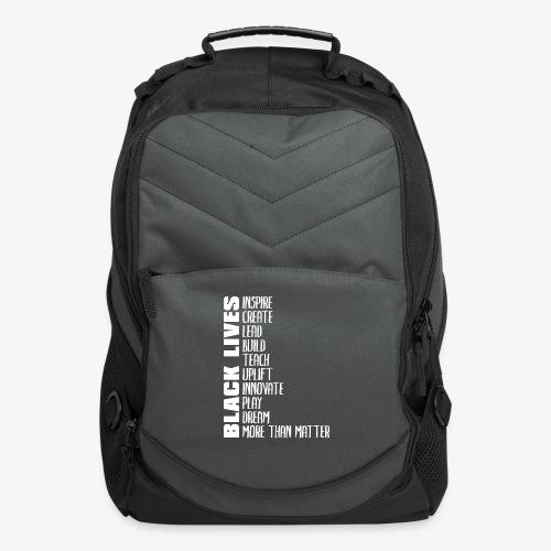 Black Lives More Than Matter - Computer Backpack