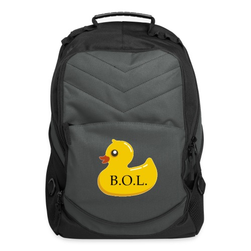 Official B.O.L. Ducky Duck Logo - Computer Backpack