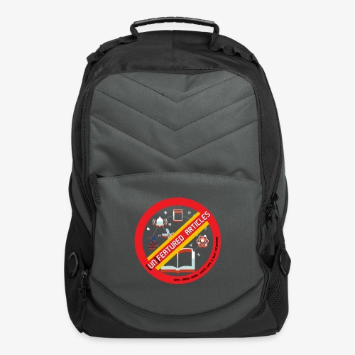 unFeatured Articles Logo - Computer Backpack