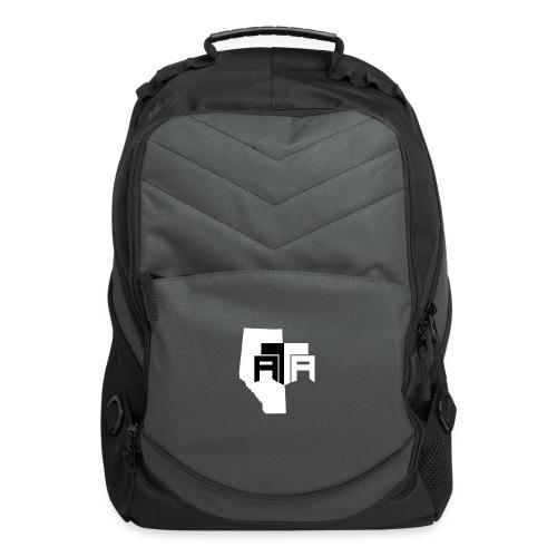 B W ATA NO Social Media png - Computer Backpack