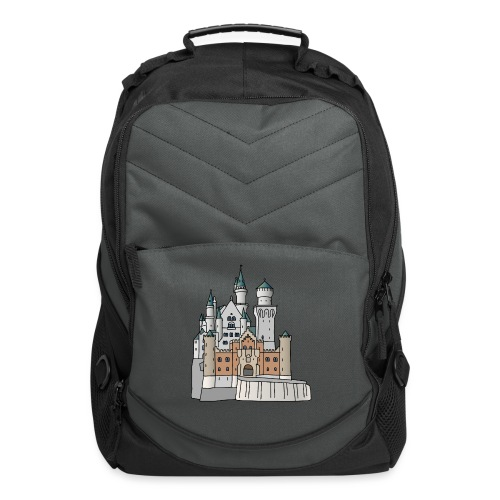 Neuschwanstein Castle, Bavaria - Computer Backpack
