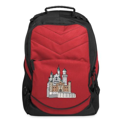 Neuschwanstein Castle, Bavaria - Computer Backpack