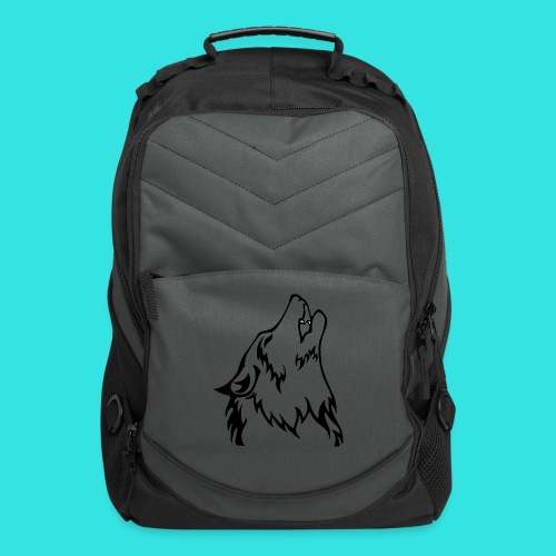 Wolf (back) - Computer Backpack