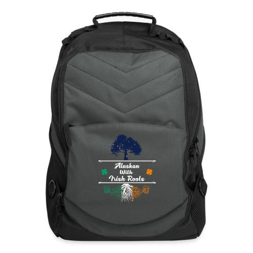 ALASKAN WITH IRISH ROOTS - Computer Backpack