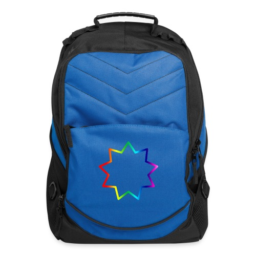 Baha´i rainbow - Computer Backpack