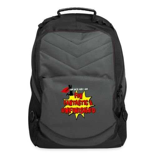 Fun Fantastic and UNFINISHED - Back to School - Computer Backpack