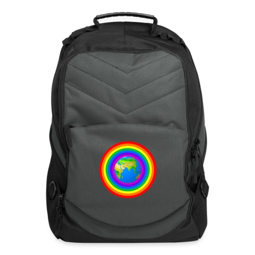 Earth rainbow protection - Computer Backpack