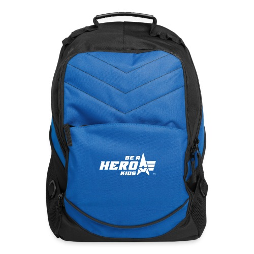 BHK primary white TM - Computer Backpack