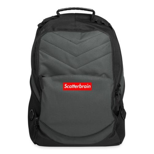 scatterbrain logo - Computer Backpack