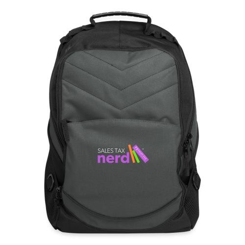 Sales Tax Nerd - Computer Backpack