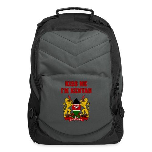 Kiss Me, I'm Kenyan - Computer Backpack