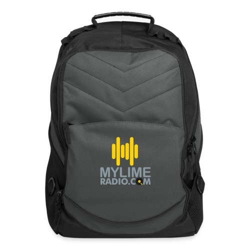 MyLimeRadio Main LOGO (Tri Colour) - Computer Backpack