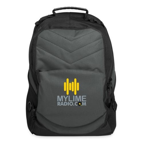 MyLimeRadio Main LOGO (Tri Colour) - Computer Backpack