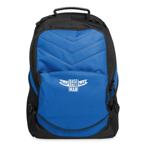 Baseball Man - Computer Backpack
