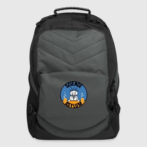 Science Asylum Logo - Computer Backpack