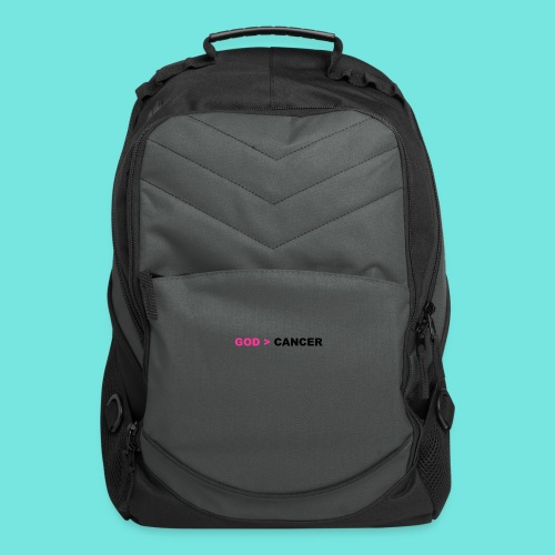 GOD IS GREATER THAN CANCER - Computer Backpack