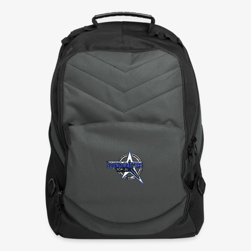 SOUND MATTERS Badge - Computer Backpack