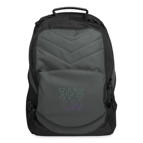 2-Tone It's Lit! Design - Computer Backpack
